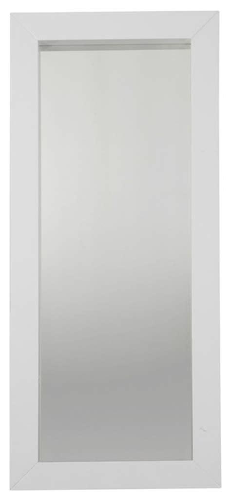 glossy miroir 170x74cm avec large blanc brillant contemporain miroir mural par alin 233 a