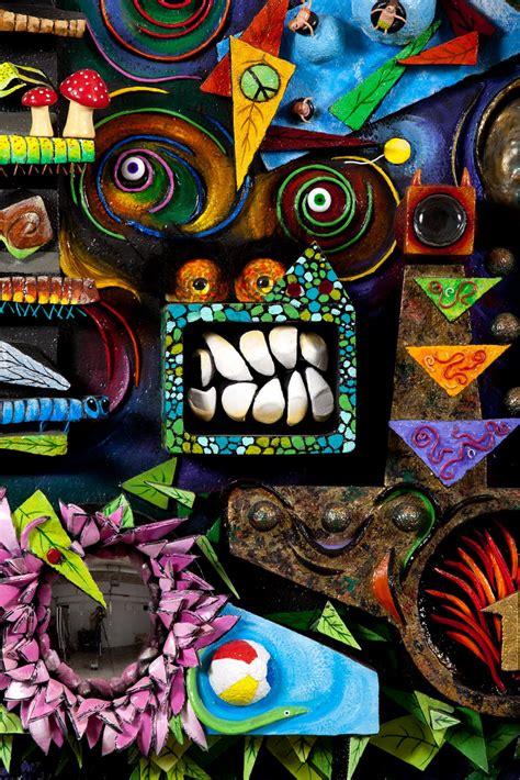victoria kerr art  dimensional collage