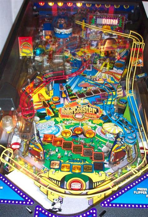 Rollercoaster Tycoon Pinball Machine | Liberty Games