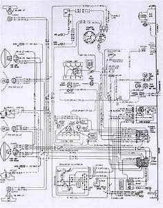 1974 Camaro Engine  U0026 Forward Light Wiring Schematic  61383