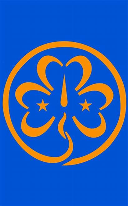 Guides Scouts Scout Promise Trefoil Badge Guide