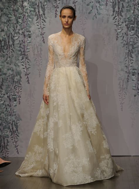 Monique Lhuilliers Fall 2016 Wedding Dress Collection Is