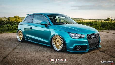 Stanced Audi A1