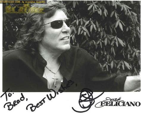 jose feliciano in fargo jose feliciano autograph collection entry at startiger