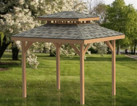 Hip Roof Plans by 10 X 12 Hip Roof Gazebo Building Plans