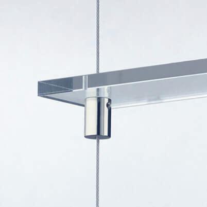 Shelf Support  15mm X M8 Posilock Wire Display System