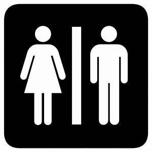 Toilet clipart silhouette - Pencil and in color toilet ...
