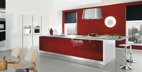 cocinas en rojo pasion cocinas  estilo