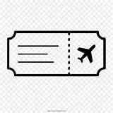 Ticket Coloring Tickets Airline Transparent Background Clipart Template Pngguru sketch template