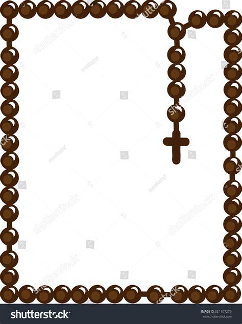 Royalty-free Holy Rosary. Christian rosary. Symbol