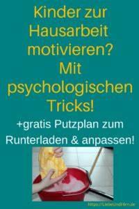 Motivation Zum Putzen : kostenfreie putzplan vorlage plus motivationstipps f r ~ A.2002-acura-tl-radio.info Haus und Dekorationen