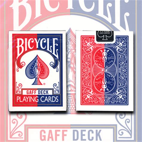 Bicycle Gaff Deck Tricks by Gaff Effect Deck Bicycle By Uspcc Trick