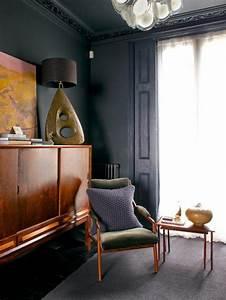 Graue Farbe Wand : die graue wandfarbe 43 interieur ideen damit ~ Sanjose-hotels-ca.com Haus und Dekorationen