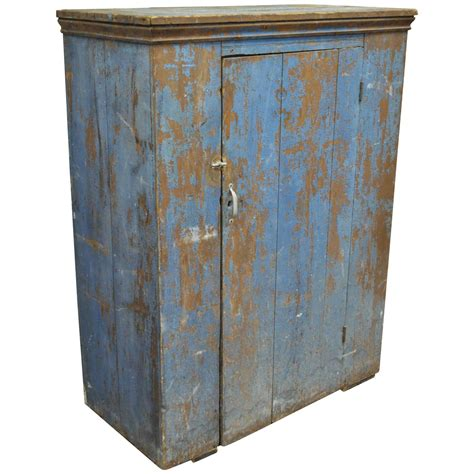 Antique Jelly Cupboard by Antique Blue Distress Painted Pennsylvania Primitive Jelly