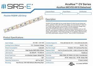 Understanding Led Strips Datasheets Photometric