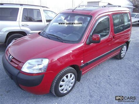 peugeot partner 2005 2005 peugeot partner combi hdi 90 premium car photo and