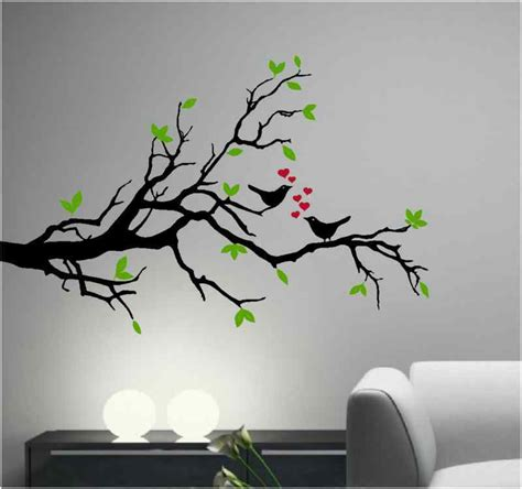 song birds on an olive tree branch vinyl wall decal ebay