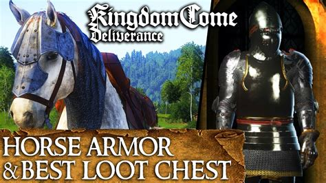 kingdom deliverance come armor horse chest equipment secret amazing