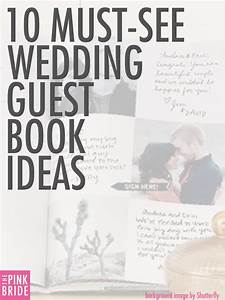 Guestbook Sign In Wedding Ideas