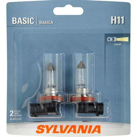 sylvania h11 bulb basic headlight fog xtravision silverstar light zxe automotive gold halogen carquest osram vision lights dot headlights auto