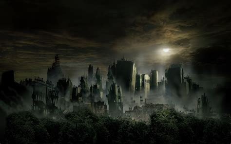 Post Apocalyptic Background World Wildness Web Post Apocalyptic Wallpapers