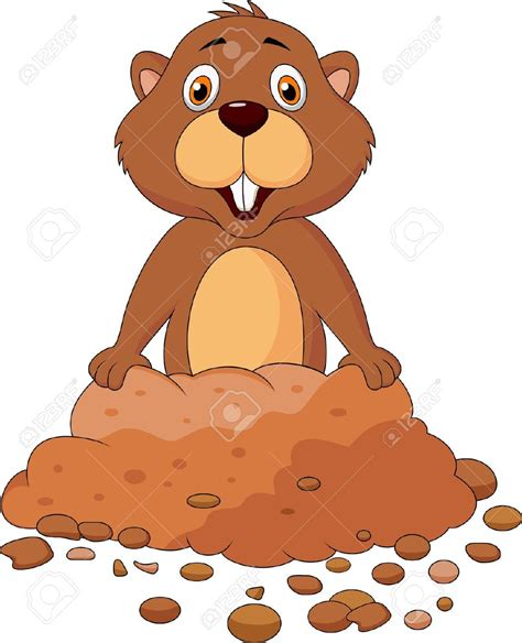 Groundhog Day Clipart Groundhog Clipart Pencil And In Color Groundhog