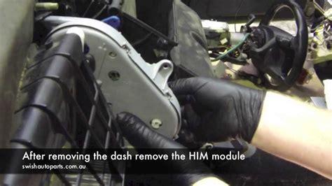 ford  module  blend door rod repair youtube