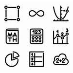 Math Icons Mathematics Vector