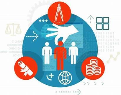 Attrition Clip Recruitment Selection Illustrations Process Vector