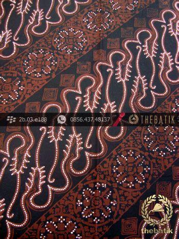 jual batik cap tulis jogja motif parang curigo gede