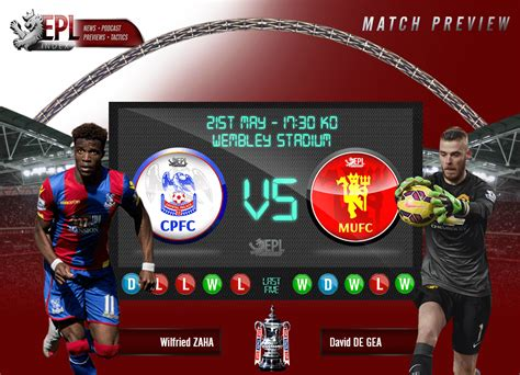 Crystal Palace v Manchester United | FA Cup Final Preview ...