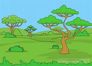 Geography Clipart- grassland-biome-clipart - Classroom Clipart