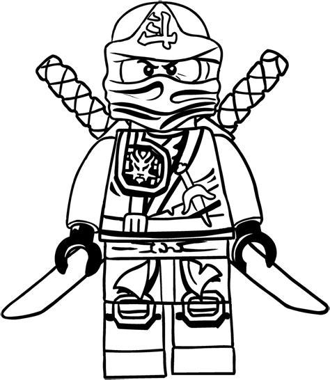 disegno  lloyd dei ninjago da colorare