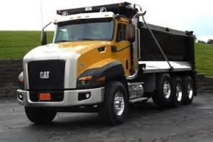 cat truck cat trucks show premium features construction equipment