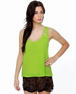 Best 25 Green tank top ideas on Pinterest