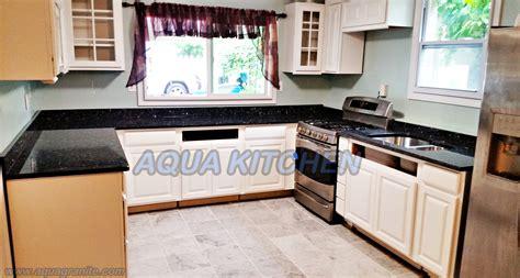 blue pearl granite countertop installation in wayne new