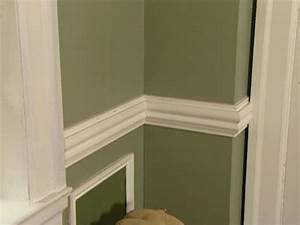 How to Install a Chair Rail how-tos DIY