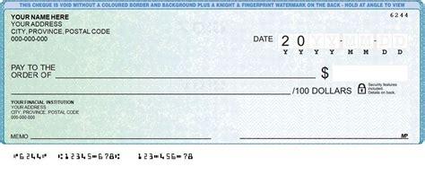 Cheque Deposit Options