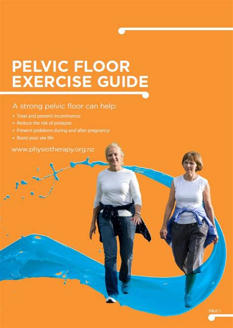 Pelvic Floor Therapy Exercises by Pelvic Floor Disorders Physiotherapy New Zealand