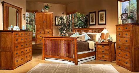 mission creek oak waterbed bedroom furniture