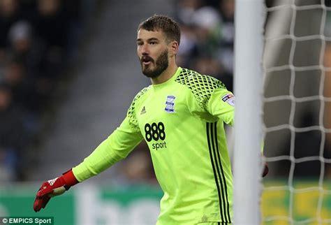 Burnley sign Adam Legzdins from Birmingham   Daily Mail Online