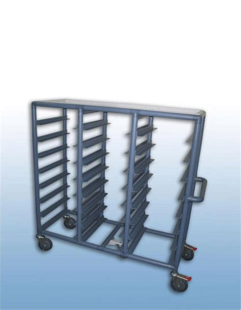 cuisine pro services professional quality bay 24 x tray service trolley