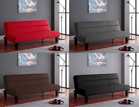 kebo modern styles futon sleeper sofa bed couch multiple