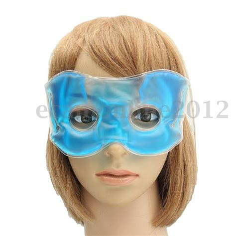 gel eye mask cold pack warm hot heat ice cool soothing