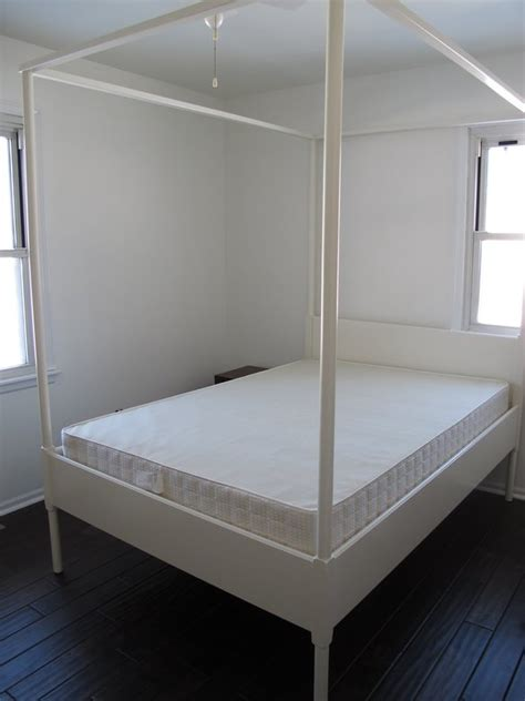 ikea canapé beddinge size white ikea edland canopy bed in downtown