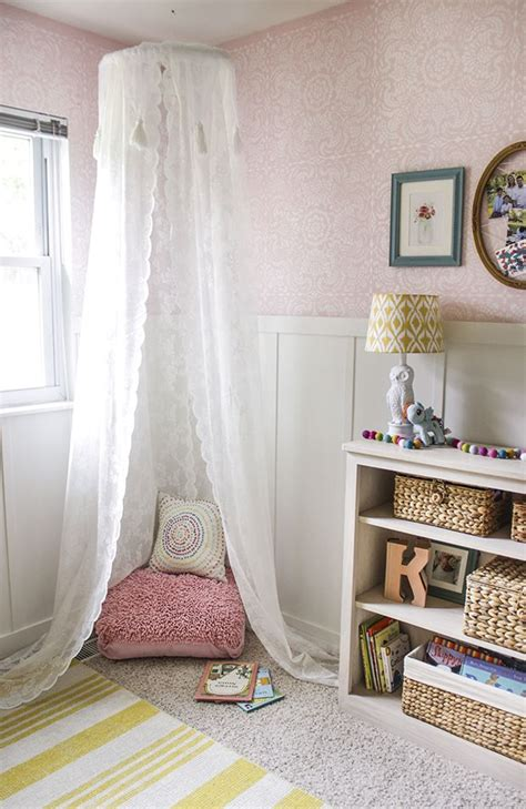 Childrens Bedroom Stencils by Esperanza Lace Tile Stencil Stenciled Painted Walls