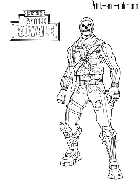 fortnite skins coloring pages  print fortnite