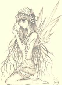Anime Fallen Angels Drawings Pencil