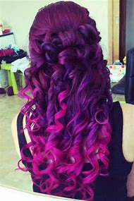 Purple Ombre Hair Tumblr