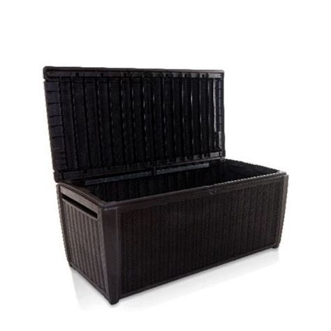 Keter Jumbo Deck Box by Keter Rattan Style 2 Seater Bistro Set 05055715908764
